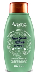 Aveeno Shampoo Fresh Greens Blend 12oz (Thicken) (13949)<br><br><br>Case Pack Info: 4 Units