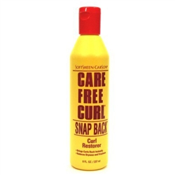 "Care Free Curl Snap Back Curl Restorer 8oz (15615)<br> <span style=""color:#FF0101"">(ON SPECIAL 20% OFF)</span style><br><span style=""color:#FF0101""><b>12 or More=Special Unit Price $2.23</b></span style><br>Case Pack Info: 12 Units"