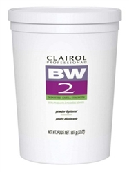 "Clairol Bw2 Powder Lightener Extra-Strength Tub 32oz (16391)<br><br><span style=""color:#FF0101""><b>6 or More=Unit Price $18.90</b></span style><br>Case Pack Info: 6 Units"