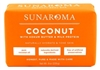 Sunaroma Soap Bar Coconut Oil 8oz (17033)<br><br><br>Case Pack Info: 36 Units