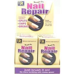 D&R Nail Repair Brush-On 0.5oz (6 Pieces) Display (20204)<br><br><br>Case Pack Info: 8 Units
