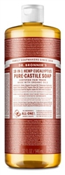 "Dr. Bronners Eucalyptus 32oz Castile Soap (20220)<br><br><span style=""color:#FF0101""><b>12 or More=Unit Price $10.68</b></span style><br>Case Pack Info: 12 Units"