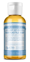 "Dr. Bronners Baby Mild Unscnted 2oz(12 Pieces)Castile Soap (20241)<br> <span style=""color:#FF0101"">(ON SPECIAL 20% OFF)</span style><br><span style=""color:#FF0101""><b>Buy 1 or More = Special Price $19.00</b></span style><br>Case Pack Info: 6 Units"