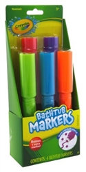 "Crayola Bathtub Markers 4 Count With Bonus Extra Marker (20264)<br><br><span style=""color:#FF0101""><b>12 or More=Unit Price $4.18</b></span style><br>Case Pack Info: 6 Units"