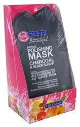 Freeman Facial Charcoal & Black Sugar Pack (6 Pieces) (22808)<br><br><br>Case Pack Info: 4 Units