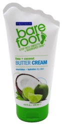 "Freeman Bare Foot Butter Lime + Coconut 4.2oz (22823)<br><br><span style=""color:#FF0101""><b>Buy 6 or More = $2.33</b></span style><br>Case Pack Info: 6 Units"