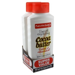 "Fruit Of The Earth Bogo Lotion Cocoa Butter W/Alo&Vit-E 11oz (23662)<br><br><span style=""color:#FF0101""><b>12 or More=Unit Price $3.08</b></span style><br>Case Pack Info: 6 Units"
