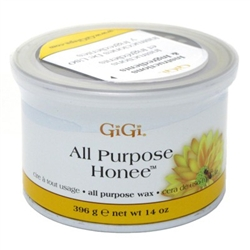 "Gigi Tin Honee Wax All Purpose 14oz (24440)<br><span style=""color:#FF0101"">(ON SPECIAL 9% OFF)</span style><br><span style=""color:#FF0101""><b>Buy 6 or More = Special Price $7.58</b></span style><br>Case Pack Info: 24 Units"