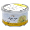 "Gigi Tin Honee Wax All Purpose 8oz (24445)<br><br><span style=""color:#FF0101""><b>12 or More=Unit Price $4.87</b></span style><br>Case Pack Info: 24 Units"