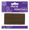 Diane Ponytails Brown 12 Count (12 Pieces) (26237)<br><br><br>Case Pack Info: 12 Units