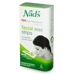 "Nads Hair Removal Facial Strips 24 Count (31387)<br><br><span style=""color:#FF0101""><b>Buy 12 or More = $5.03</b></span style><br>Case Pack Info: 6 Units"