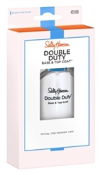 "Sally Hansen Double Duty Base & Top Coat 0.45oz (33918)<br><br><span style=""color:#FF0101""><b>Buy 12 or More = $3.33</b></span style><br>Case Pack Info: 48 Units"