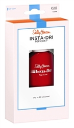 "Sally Hansen Insta-Dri Topcoat Clear 0.45oz (33923)<br><br><span style=""color:#FF0101""><b>Buy 12 or More = $3.91</b></span style><br>Case Pack Info: 48 Units"