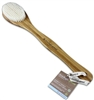 Clean Logic Bamboo Handle Bristle Bath Brush (40304)<br><br><br>Case Pack Info: 24 Units