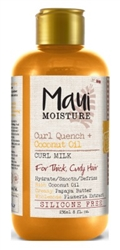 Maui Moisture Coconut Oil Curl Milk 8oz (41954)<br><br><br>Case Pack Info: 6 Units