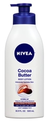 Nivea Lotion Cocoa Butter 16.9oz Pump (Dry To Very Dry) (42742)<br><br><br>Case Pack Info: 12 Units