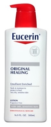 Eucerin Lotion Original Healing 16.9oz Pump (42752)<br><br><br>Case Pack Info: 12 Units