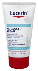 Eucerin Creme Advanced Repair Hand 2.7oz Tube (42754)<br><br><br>Case Pack Info: 12 Units