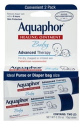 Aquaphor Baby Healing Ointment 0.35oz 2 Count (42778)<br><br><br>Case Pack Info: 24 Units
