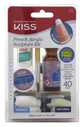 "Kiss French Acrylic Sculpture Kit (45342)<br><br><span style=""color:#FF0101""><b>12 or More=Unit Price $5.79</b></span style><br>Case Pack Info: 36 Units"