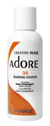 "Adore Semi-Permanent Haircolor #038 Sunrise Orange 4oz (45488)<br><br><span style=""color:#FF0101""><b>Buy 6 or More = $2.95</b></span style><br>Case Pack Info: 12 Units"