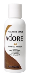 "Adore Semi-Permanent Haircolor #046 Spiced Amber 4oz (45490)<br><br><span style=""color:#FF0101""><b>Buy 6 or More = $2.95</b></span style><br>Case Pack Info: 12 Units"
