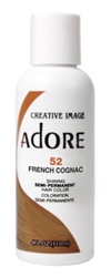 "Adore Semi-Permanent Haircolor #052 French Cognac 4oz (45492)<br><br><span style=""color:#FF0101""><b>6 or More=Unit Price $3.04</b></span style><br>Case Pack Info: 12 Units"