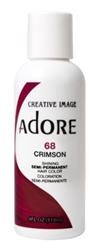 "Adore Semi-Permanent Haircolor #068 Crimson 4oz (45497)<br><br><span style=""color:#FF0101""><b>Buy 6 or More = $2.95</b></span style><br>Case Pack Info: 12 Units"