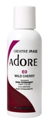 "Adore Semi-Permanent Haircolor #069 Wild Cherry 4oz (45498)<br><br><span style=""color:#FF0101""><b>Buy 6 or More = $2.95</b></span style><br>Case Pack Info: 12 Units"