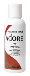 "Adore Semi-Permanent Haircolor #072 Paprika 4oz (45501)<br><br><span style=""color:#FF0101""><b>Buy 6 or More = $2.95</b></span style><br>Case Pack Info: 12 Units"