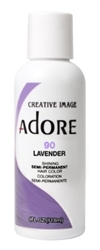 "Adore Semi-Permanent Haircolor #090 Lavender 4oz (45509)<br><br><span style=""color:#FF0101""><b>Buy 6 or More = $2.95</b></span style><br>Case Pack Info: 12 Units"