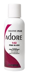 "Adore Semi-Permanent Haircolor #142 Pink Blush 4oz (45525)<br><br><span style=""color:#FF0101""><b>Buy 6 or More = $2.95</b></span style><br>Case Pack Info: 12 Units"