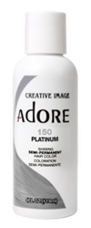 "Adore Semi-Permanent Haircolor #150 Platinum 4oz (45526)<br><br><span style=""color:#FF0101""><b>Buy 6 or More = $2.95</b></span style><br>Case Pack Info: 12 Units"
