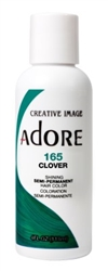 "Adore Semi-Permanent Haircolor #165 Clover 4oz (45529)<br><br><span style=""color:#FF0101""><b>Buy 6 or More = $2.95</b></span style><br>Case Pack Info: 12 Units"