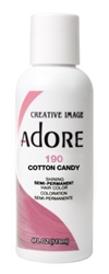 "Adore Semi-Permanent Haircolor #190 Cotton Candy 4oz (45534)<br><br><span style=""color:#FF0101""><b>Buy 6 or More = $2.95</b></span style><br>Case Pack Info: 12 Units"