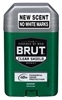 "Brut Deodorant 2.25oz Oval Solid Clear Shield (47931)<br><br><span style=""color:#FF0101""><b>Buy 12 or More = $1.47</b></span style><br>Case Pack Info: 12 Units"
