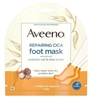 Aveeno Repairing Cica Foot Mask (6 Pieces) (51039)<br><br><br>Case Pack Info: 6 Units