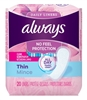 Always Dailies Liners Thin Reg 20'S Clean Scent (24 Pieces) (51526)<br><br><br>Case Pack Info: 1 Unit