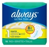 Always Pads Size 1 Ultra Thin 10 Count Regular (51527)<br><br><br>Case Pack Info: 12 Units