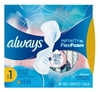 Always Pads Size 1 Infinity With Flex Foam 18 Count (51528)<br><br><br>Case Pack Info: 12 Units