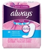 Always Dailies Liner Thin Regular 20 Count (24 Pieces) (51529)<br><br><br>Case Pack Info: 1 Unit