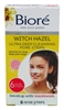Biore Deep Cleansing Pore Witch Hazel 6 Count (54469)<br><br><br>Case Pack Info: 12 Units