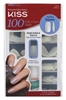"Kiss 100 Full Cover Nails Active Square (59980)<br><br><span style=""color:#FF0101""><b>12 or More=Unit Price $4.05</b></span style><br>Case Pack Info: 36 Units"