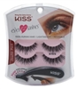 "Kiss Ever Ez 11 Lashes Double Pack (59983)<br><br><span style=""color:#FF0101""><b>12 or More=Unit Price $4.00</b></span style><br>Case Pack Info: 36 Units"