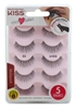 "Kiss Ever Ez 03 Lashes 5 Pairs Lightweight Reuseable (59986)<br><br><span style=""color:#FF0101""><b>12 or More=Unit Price $9.41</b></span style><br>Case Pack Info: 36 Units"