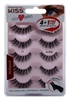 "Kiss Ever Ez 11 Lashes 4 + 1 Pairs (59987)<br><br><span style=""color:#FF0101""><b>12 or More=Unit Price $9.32</b></span style><br>Case Pack Info: 36 Units"