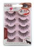 "Kiss Ever Ez 01 Lashes 4 + 1 Pairs (59988)<br><br><span style=""color:#FF0101""><b>12 or More=Unit Price $9.32</b></span style><br>Case Pack Info: 36 Units"