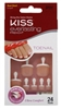 "Kiss Everlasting French Toenail Kit Real Short 24 Nail (60074)<br><br><span style=""color:#FF0101""><b>Buy 12 or More = $4.12</b></span style><br>Case Pack Info: 36 Units"