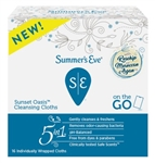 Summers Eve Cleansing Cloths 16 Count Sunset Oasis (80160)<br><br><br>Case Pack Info: 12 Units