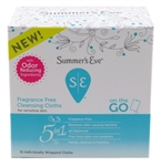 Summers Eve Cleansing Cloths 16 Count Fragrance-Free (80162)<br><br><br>Case Pack Info: 12 Units
